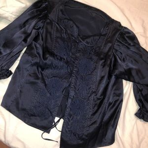 BCBGMAXAZRIA Gorgeous formal blouse